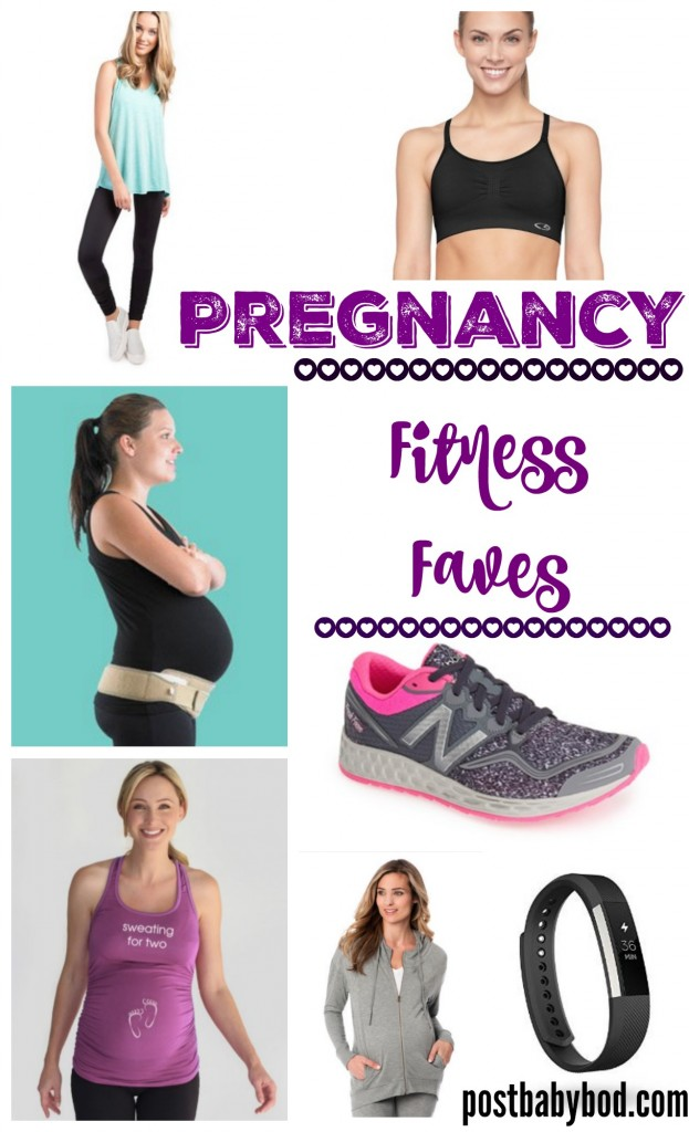 pregnancy fitness faves